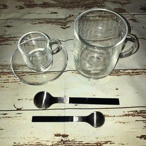 nespresso vertuoline coffee/ espresso cups